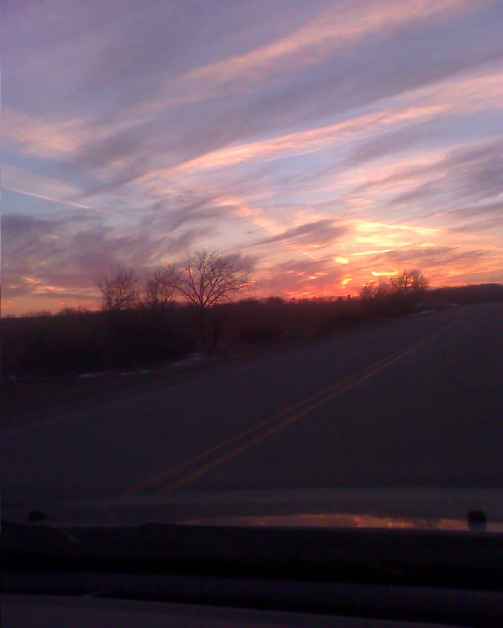 Mercy at Sunset