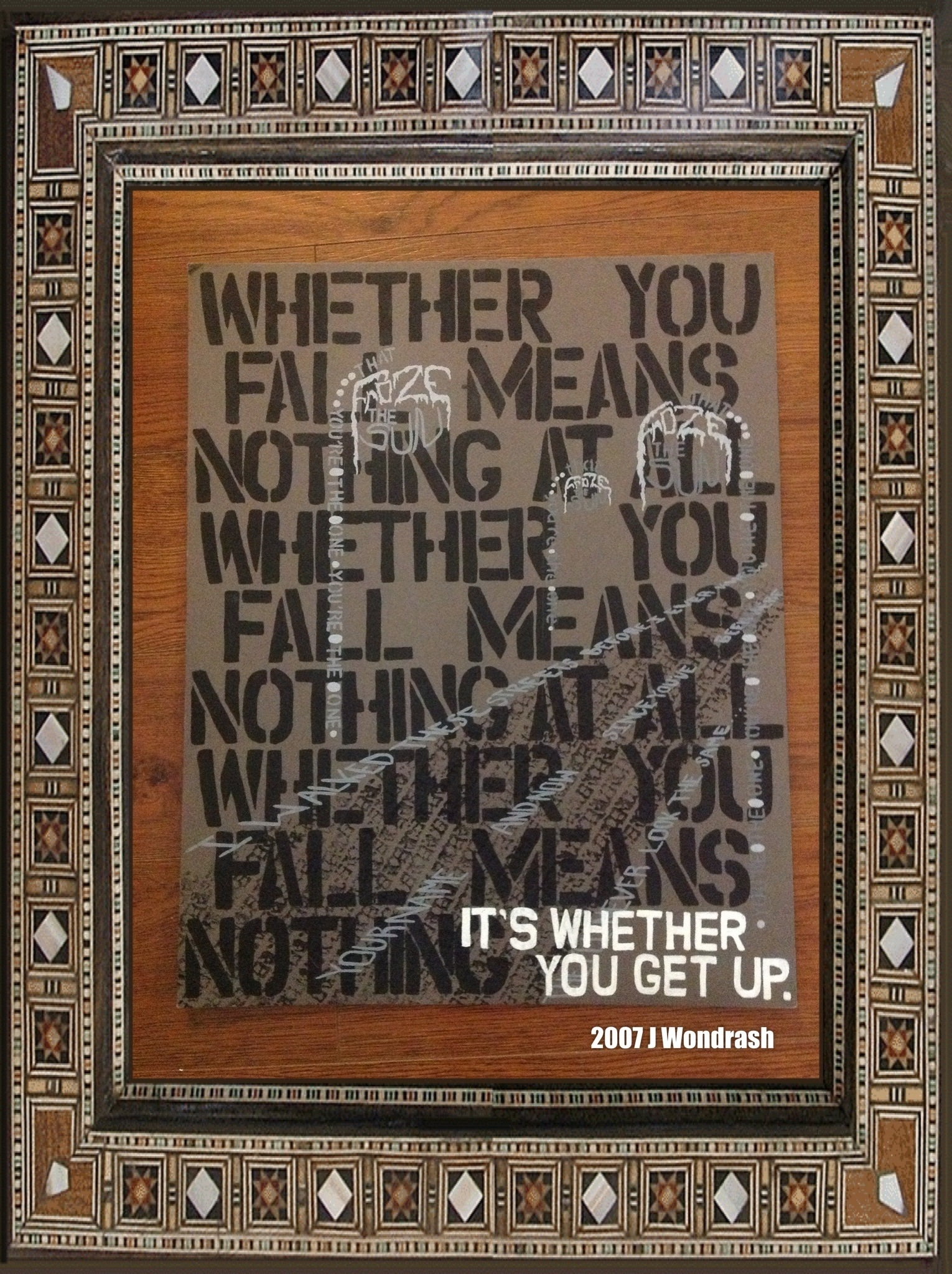 Whether You Fall