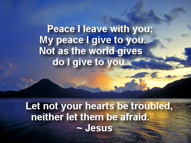Receive Peace Today in the Middle of Your Mess