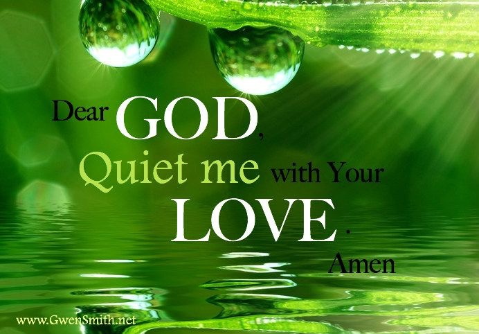 God Sings Over You