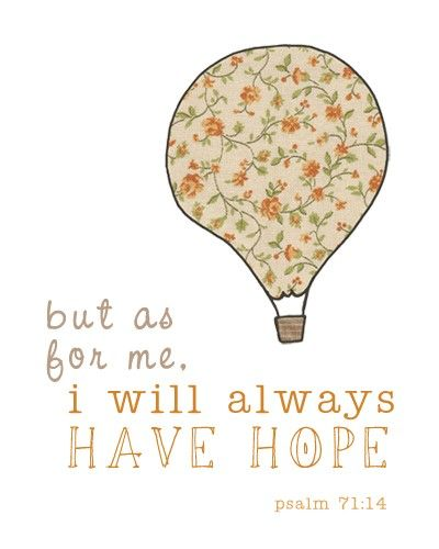 Where Do You Find Hope?